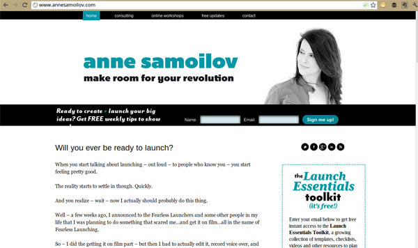 Anne Samoilov Opt In