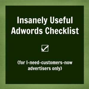 Adwords checklist for new advertisers