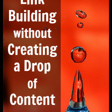 Build links without a drop of content