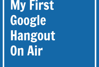 first google hangout on air