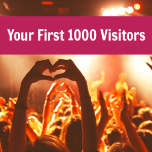 your first 1000 visitors square